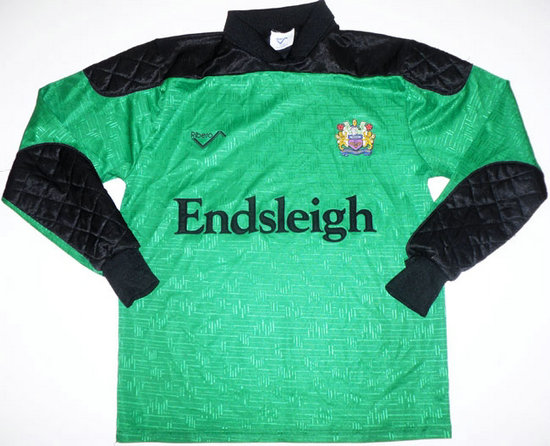 maglia burnley 1991-1993 portiere outlet