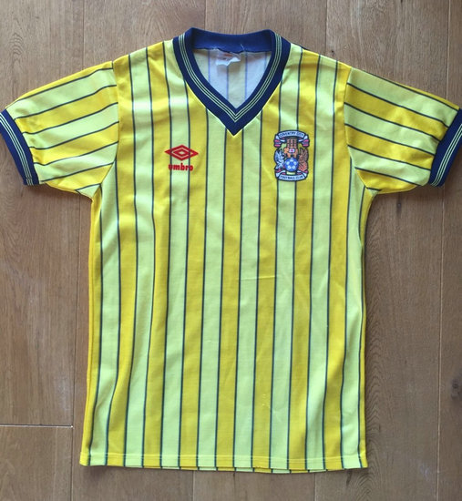 maglia coventry city 1983-1986 seconda divisa outlet