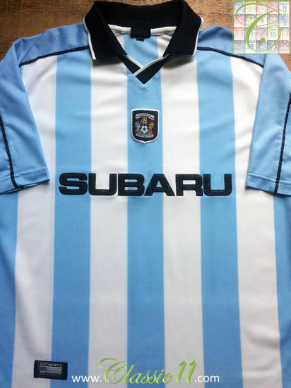 maglia coventry city 2000-2001 prima divisa outlet