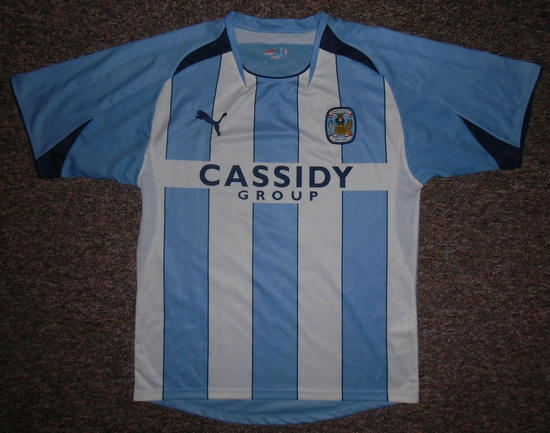 maglia coventry city 2008-2009 prima divisa outlet