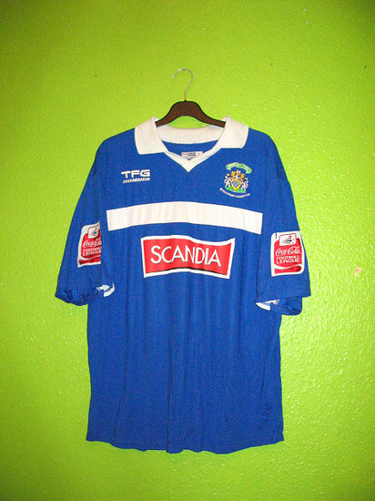 maglia stockport county 2006-2007 prima divisa outlet