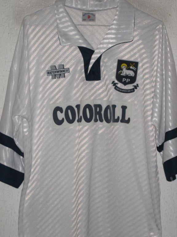 maglie calcio preston ne 1993-1994 prima divisa outlet