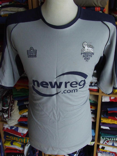 maglie calcio preston ne 2004-2005 seconda divisa outlet