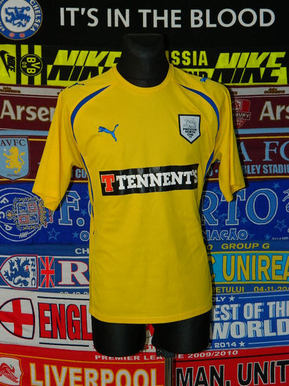 maglie calcio preston ne 2010-2011 terza divisa outlet