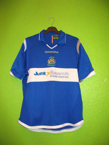 maglie calcio stockport county 2007-2009 personalizza prima divisa