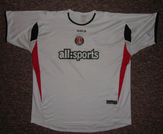 maglie charlton 2005-2006 replica seconda divisa