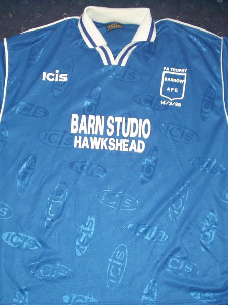 maglie di barrow afc 1997-1998 speciale outlet