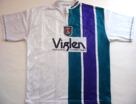 maglie di charlton 1996-1998 seconda divisa outlet