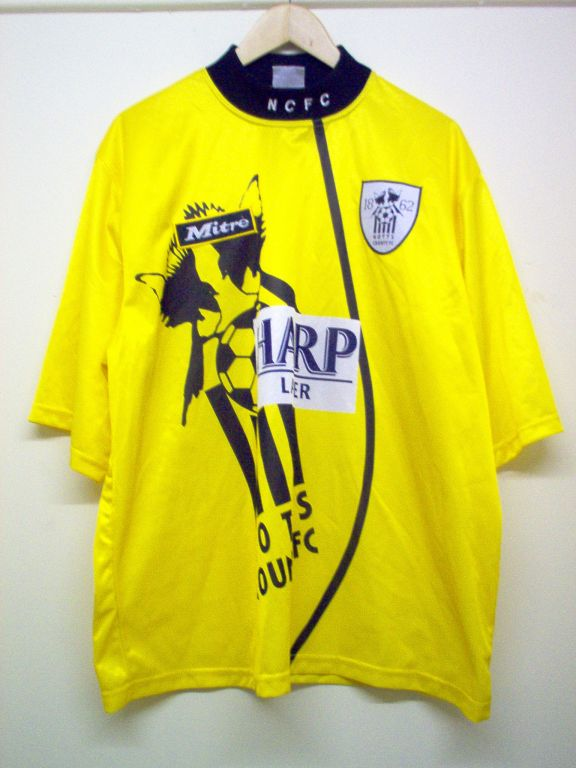 maglie di notts county 1995-1996 replica seconda divisa