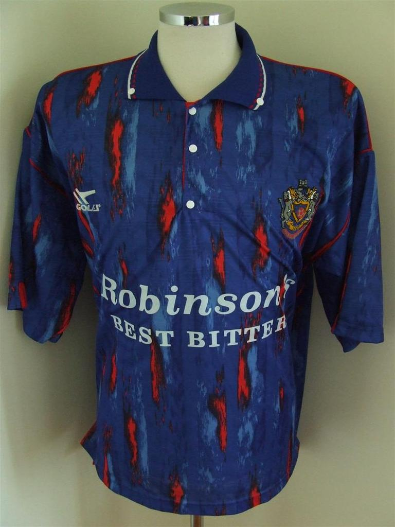 maglie di stockport county 1992-1993 prima divisa outlet