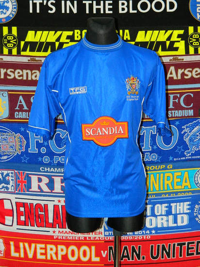maglie di stockport county 2002-2004 prima divisa outlet