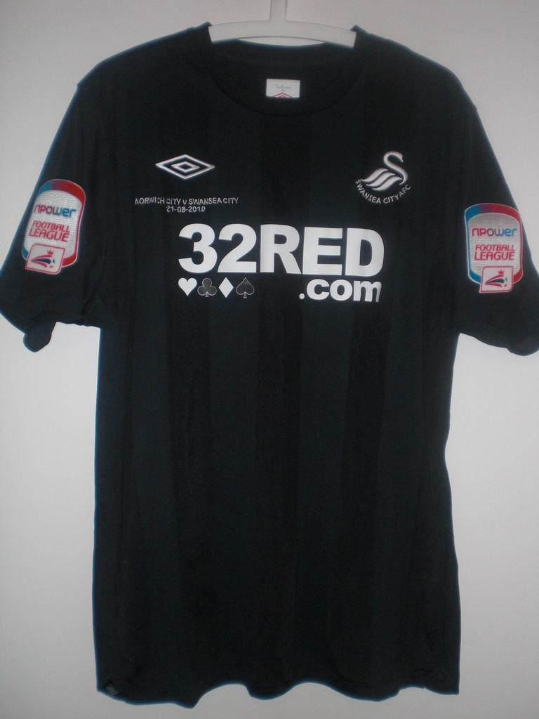 maglie di swansea city 2010-2011 seconda divisa outlet