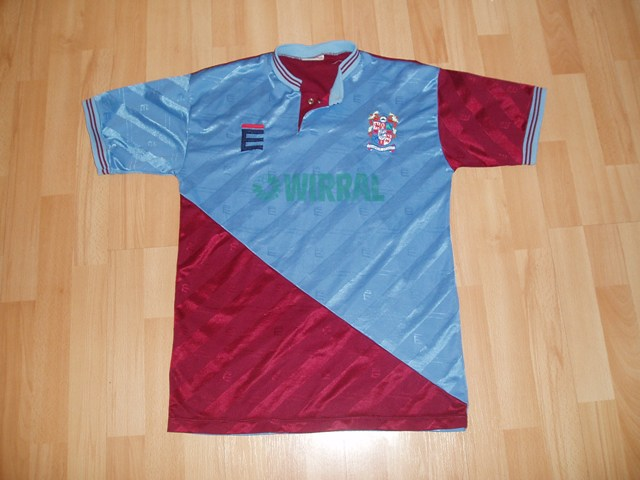 maglie di tranmere rovers 1989-1991 seconda divisa outlet