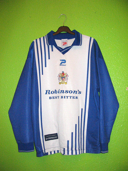 maglie stockport county 1999-2001 replica prima divisa