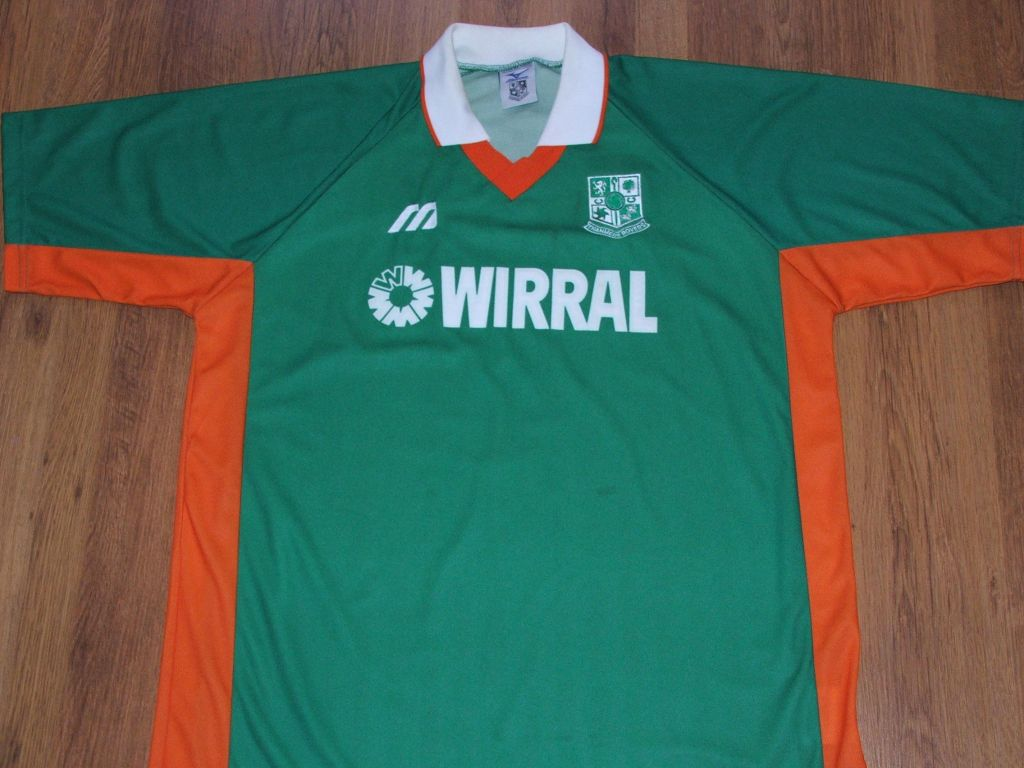maglie tranmere rovers 1998-1999 replica seconda divisa