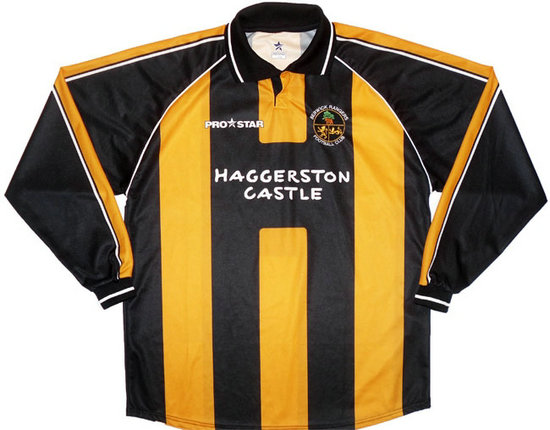 nuove maglie berwick rangers fc 2003-2005 prima divisa outlet
